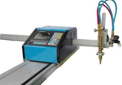 Máquina de corte de gas de llama de plasma CNC de ballesta portátil