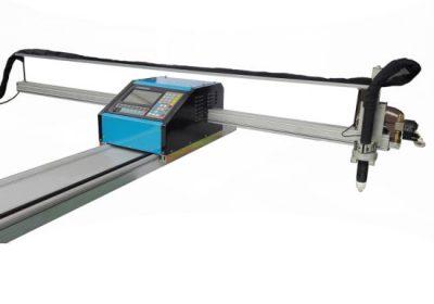 Cnc portátil llama / máquina de corte por plasma acero 8mm cnc máquina de corte de metal para latón cobre