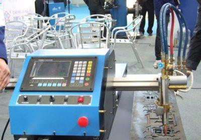 Tipo pórtico cortadora de plasma de llama CNC de doble accionamiento en las ventas