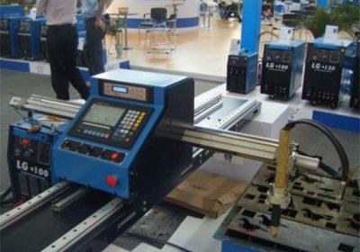Tipo pórtico portátil mini cnc cortador de plasma tubo máquina de corte de metal
