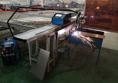 Suministro de metal enrutador cnc / metal plasma hoja cnc tubo perfil máquina de corte
