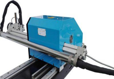 Máquina de corte por plasma tipo pórtico CNC, corte de placa de acero y precio de fábrica de taladradoras