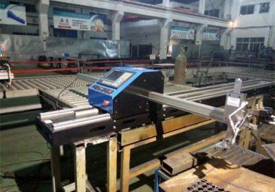 Cortadora de plasma de llama CNC con pórtico de placa de metal