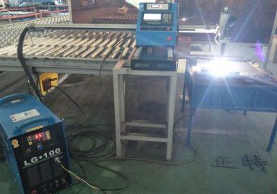 Cortadora de plasma CNC tipo pórtico automática / cortadora de plasma de chapa