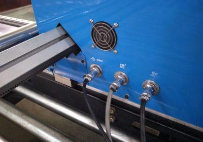 Cortadora de plasma tipo pórtico CNC, cortadora de plasma con cortadora de placa de acero