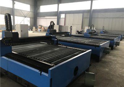 Máquina de corte por plasma automática de tubos portables CNC
