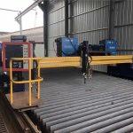 Máquina de corte por llama y plasma cnc de calidad europea / máquina cortadora de plasma cnc para metal