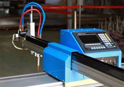 Máquina de corte de pórtico ligero cnc plasma