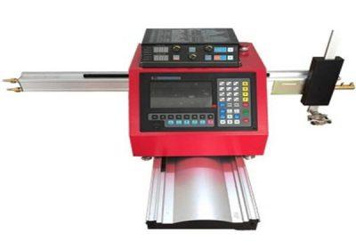 Máquina de corte por plasma cnc pórtico con guía de plomo pesado Jiaxin / máquina de corte por plasma cnc china barata / cortadora de plasma cnc
