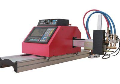 Cortadora de plasma / llama CNC de pórtico pequeña